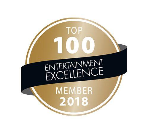 "Erneut unter den ""Top 100 Entertainern"""