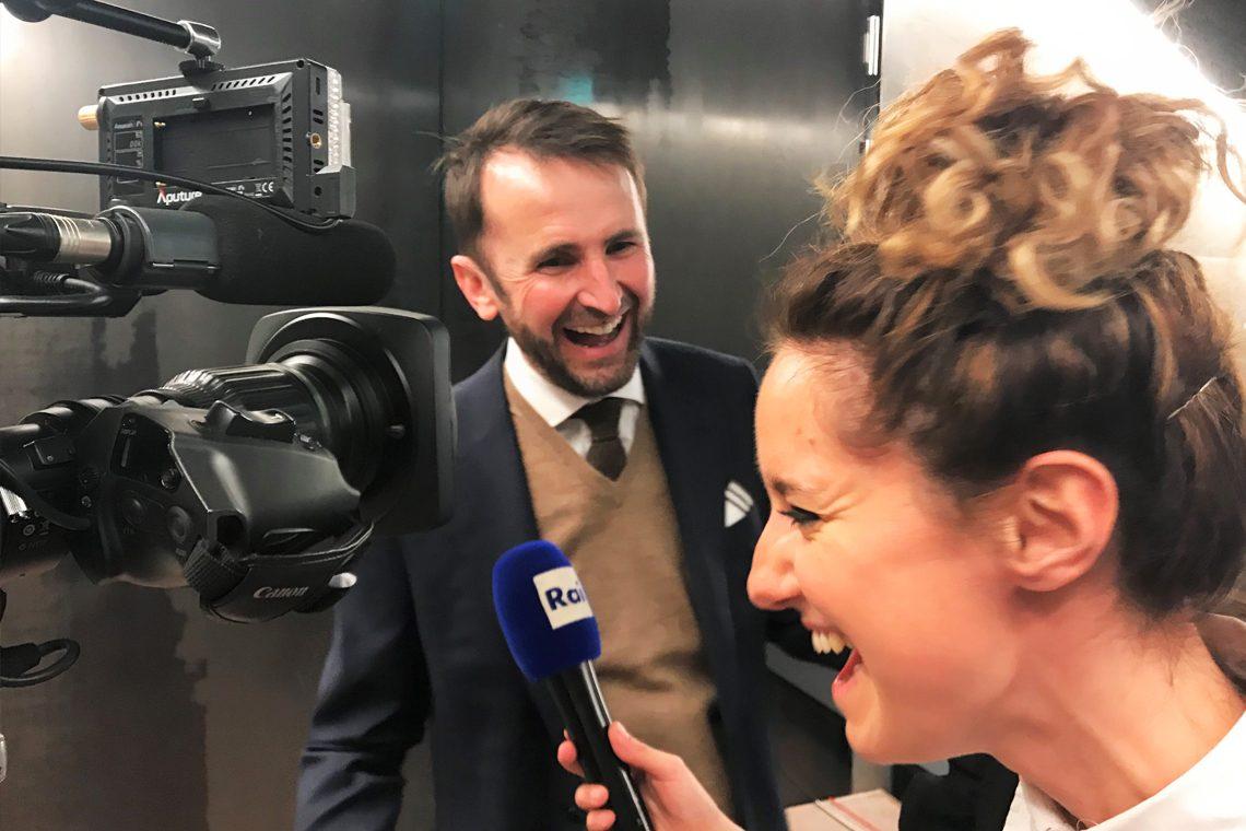 Interview Jakob Lipp bei RAI TV in Italien