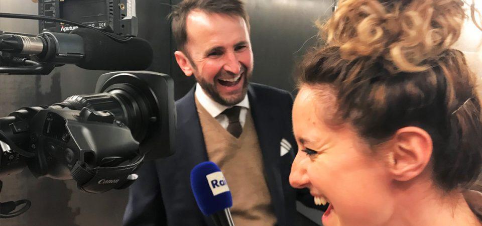 """… ein Interview auf """"italienisch""""!"""