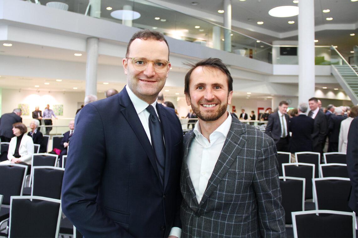 Bundesgesundheitsminister Jens Spahn trifft Experten Jakob Lipp