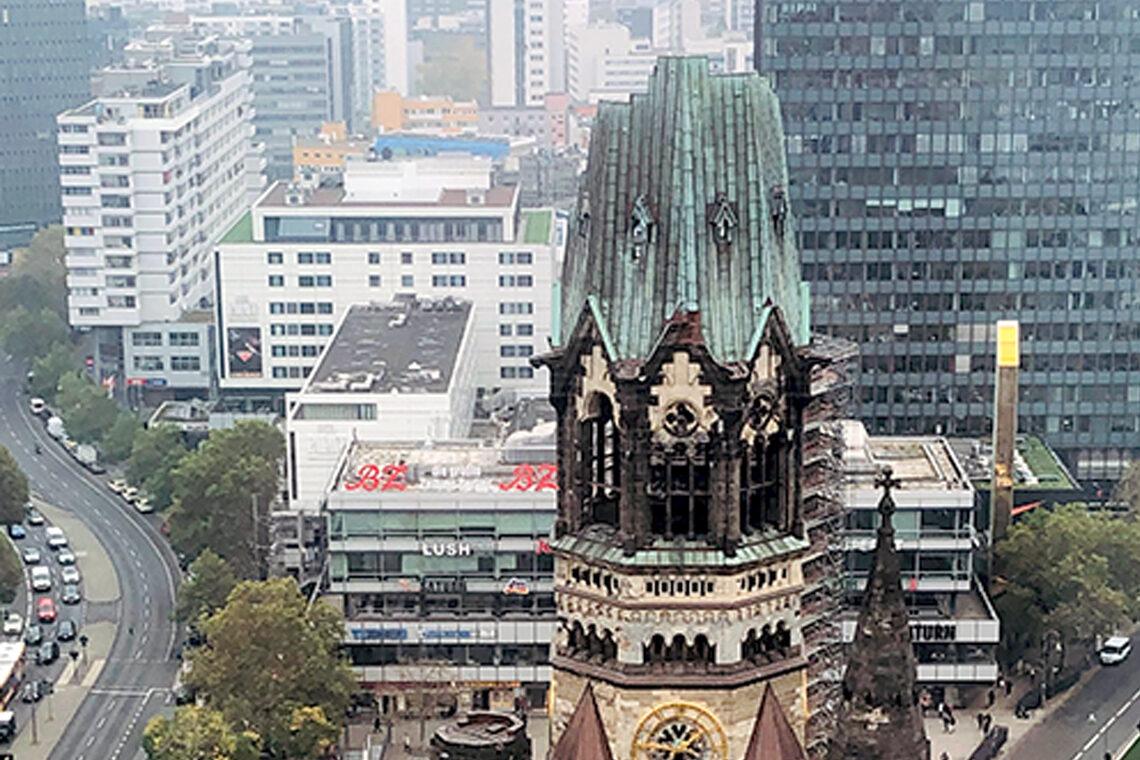 Keynote mit Ausblick auf die Berliner Kaiser-Wilhelm-Gedächtniskirche