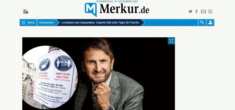 """Presseinterview """"Mentale Stärke in Lockdown und Quarantäne"""""""