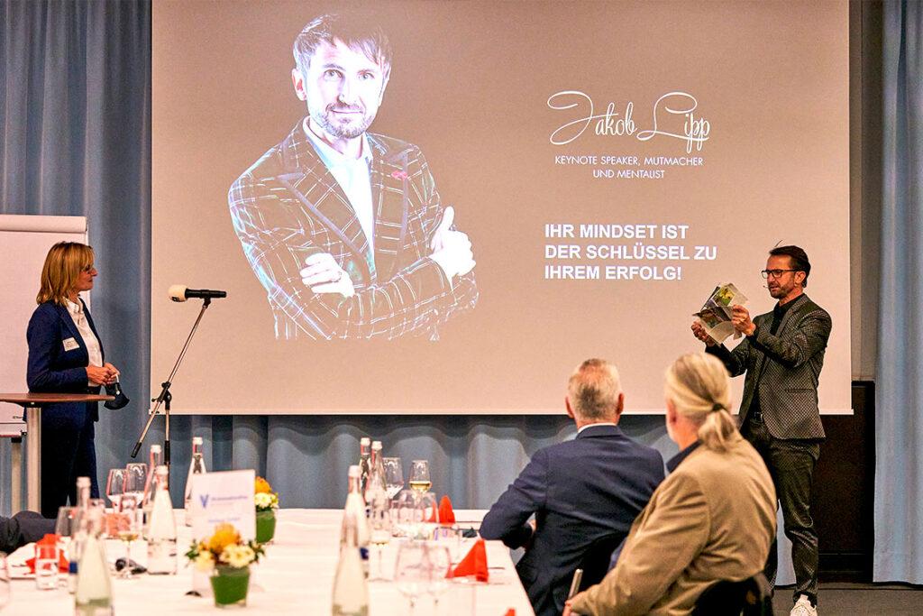 Dinner-Speech beim VR-Innovationspreis!