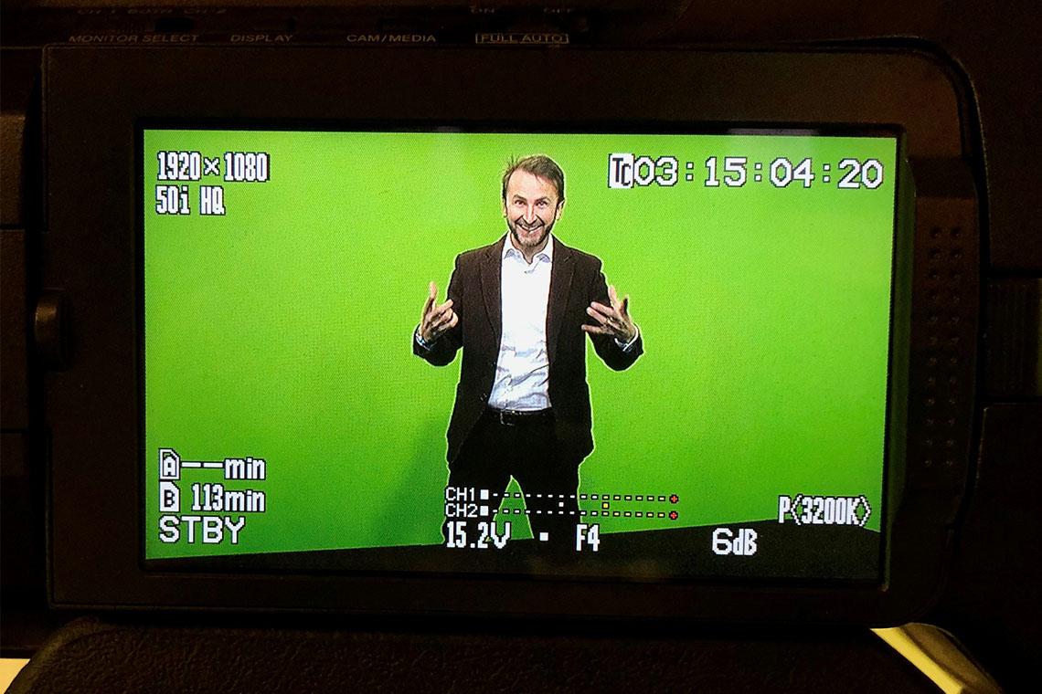 Studioaufzeichnung vor der Kamera schafft wirksamere Videokonferenzen